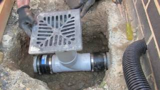 How To Connect a T piece to a Existing PVC 100mm Water Drain