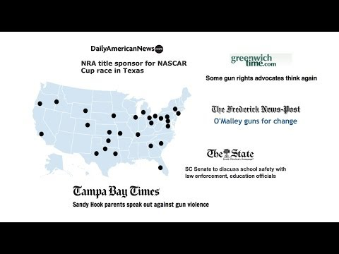 Senior Researches Media Biases in Sandy Hook Coverage