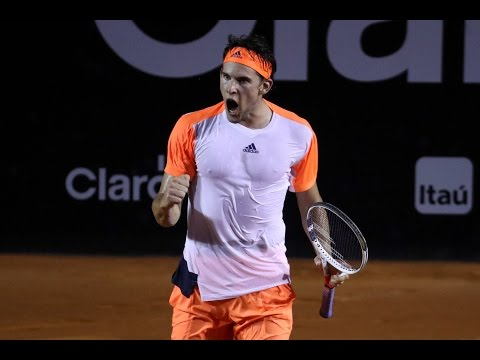 Dominic Thiem v Albert Ramos-Vinolas HIGHLIGHTS ATP Rio Open 2017