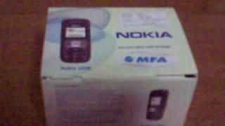 Nokia 1209 unboxing