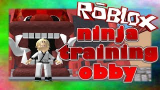 TRAINING TO BE A NINJA! | Roblox Obby | Facecam