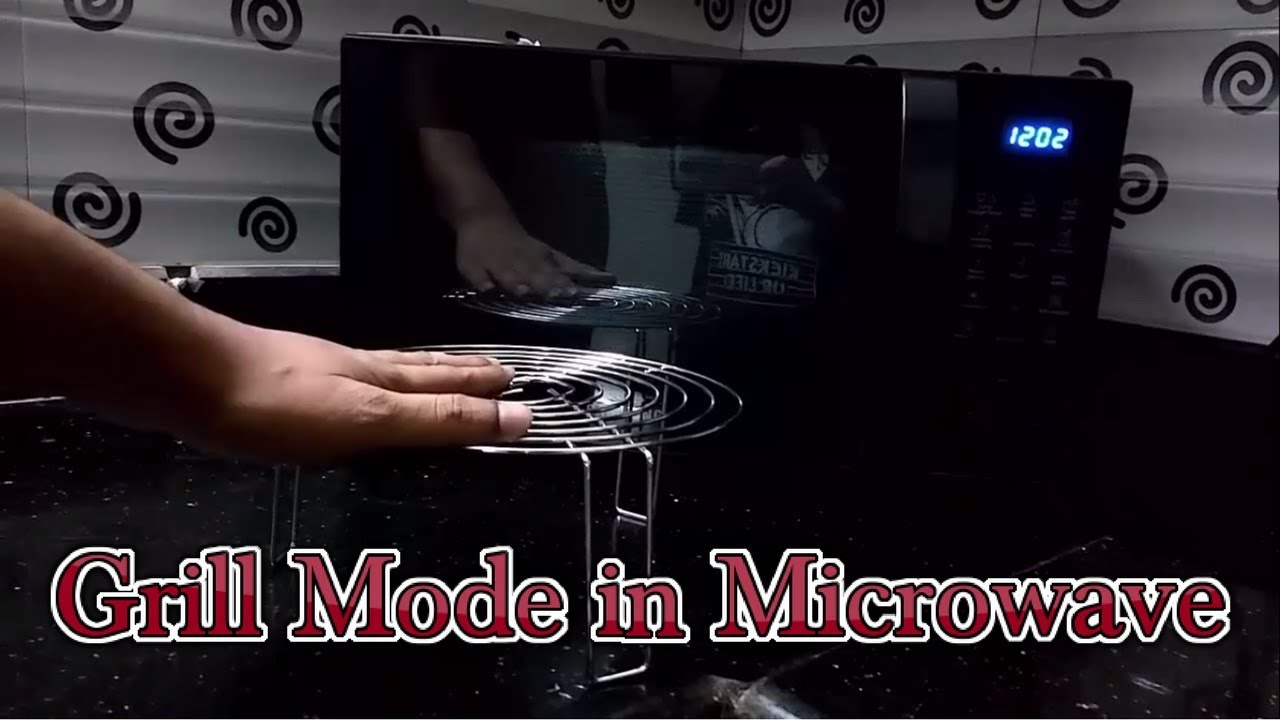How To Use Grill Mode In Samsung Microwave Model No Ce76jd Bxtl Or Ce73jd India Tech