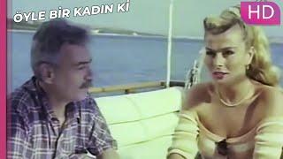 Öyle Bir Kadın Ki - Taze Dul Avcıları | Romantik Türk Filmi