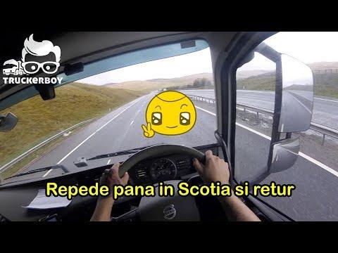 #truckereala133 - Repede pana in Scotia si retur