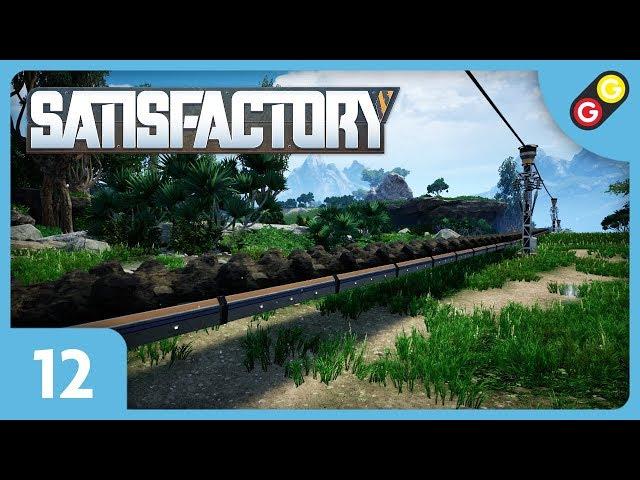 Satisfactory #12 On exploite un filon de charbon ! [FR]