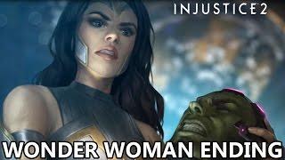 Injustice 2 - Wonder Woman Ending!