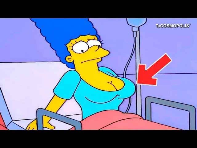3 SECRETOS OSCUROS de MARGE SIMPSON
