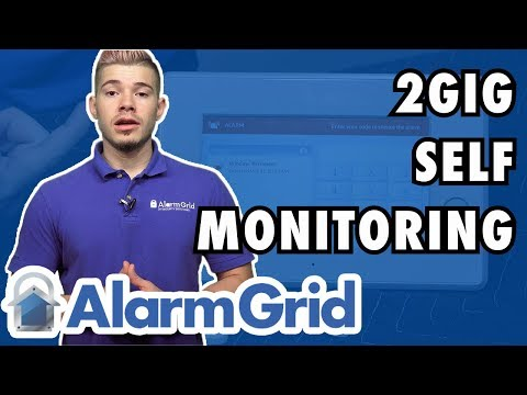 Using a 2GIG GC3 W:O Monitoring