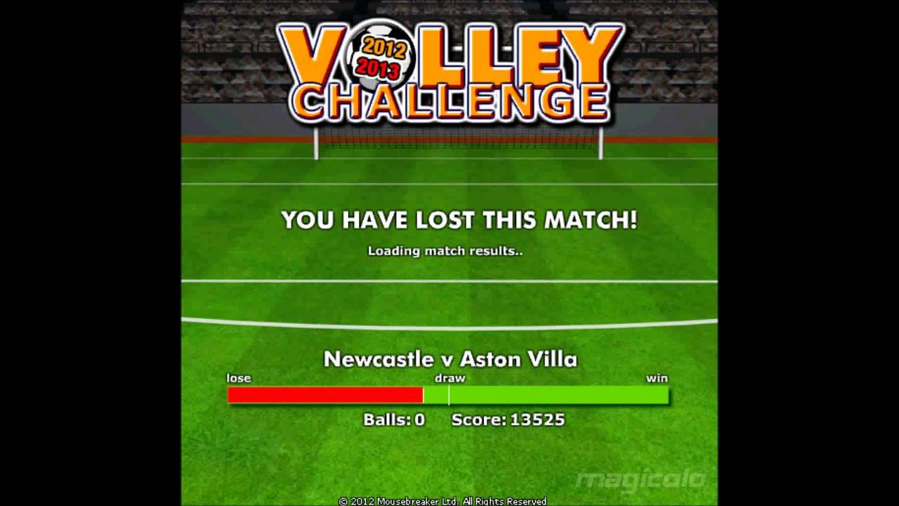mousebreaker volley challenge