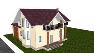 видео Строительство дома из сип панелей: подготовка и основные этапы