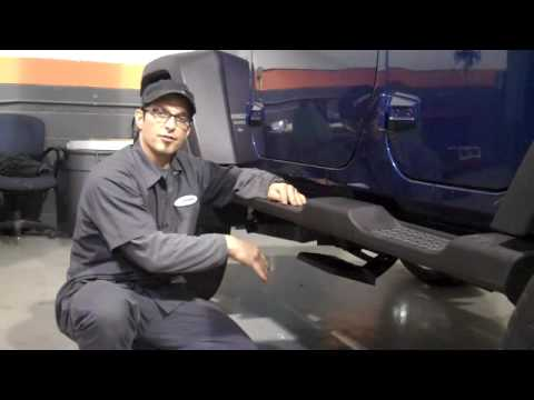 Lifted Jeep Wrangler W Reatractable Side Steps Youtube