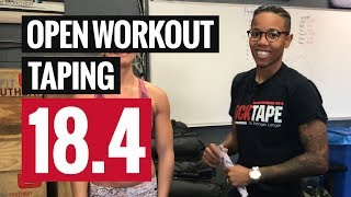 How to Tape For Open 18.4 - Reebok CrossFit Games Taping Strategy