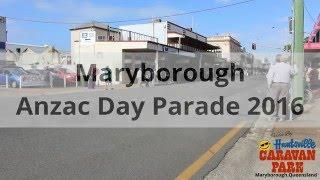 Maryborough Anzac Day Parade 2016