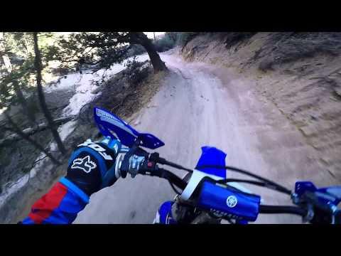 Fast Dirt Bike Trail Ride GoPro Hero 4