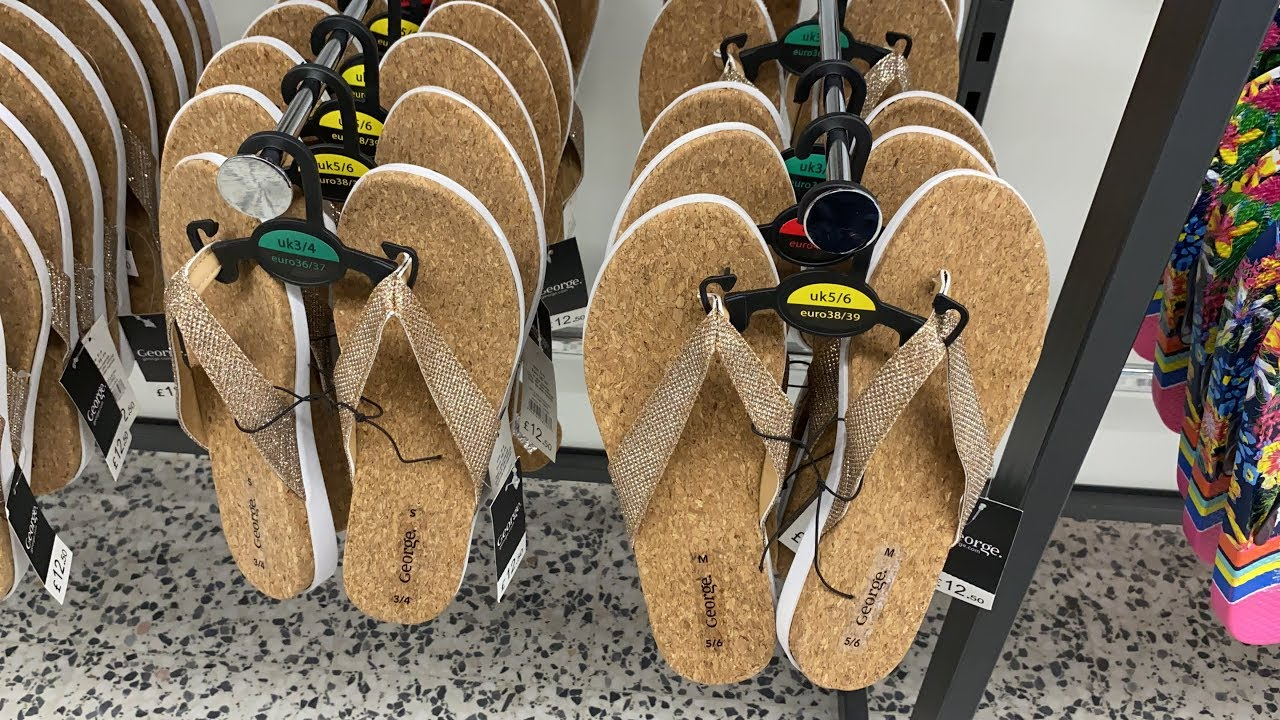 ASDA , WOMEN SHOES AND SLIPPERS - JUNE
