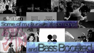 Gambar cover Some of my favourite Kpop songs (3D and Bass Boosted)