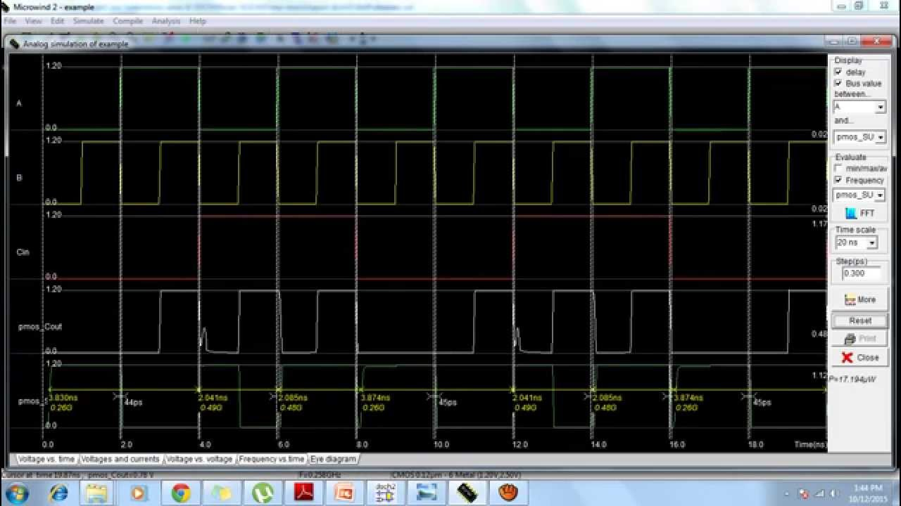 Ieee Microwind Performance Analysis Of A Low Power High Speed Hybrid Picture 1 Bit Full Adder Circuit