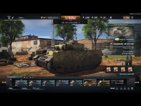 War Thunder Mini Stream! (05-12-17)