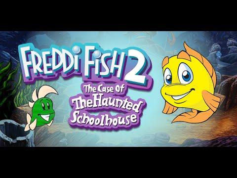 Freddi Fish 2 - The Case Of The Haunted Schoolhouse (1996)    Longplay