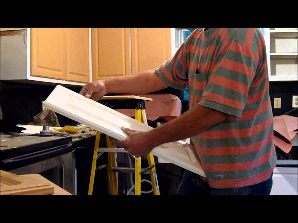 superb Plasti Dip Kitchen Cabinets #4: Save your Cabinet Doors - YouTube