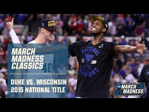 Duke Vs. Wisconsin: 2015 National Championship | FULL GAME