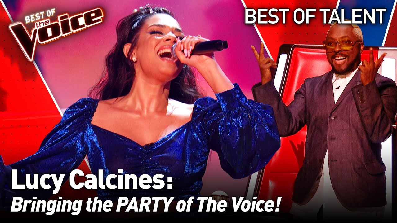 She brought the LATIN FLAVOUR to The Voice 💃