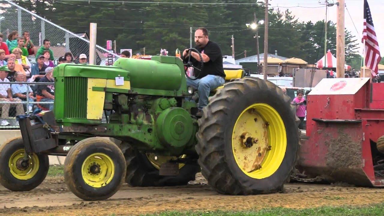 Antique Tractor Pull Tractors : John deere lp propane deerfield fair antique