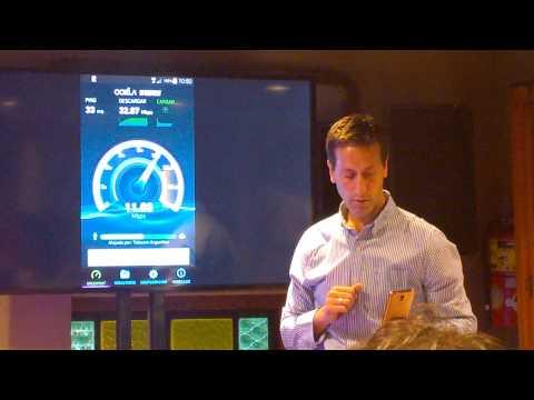 Demostración de 4G de Personal
