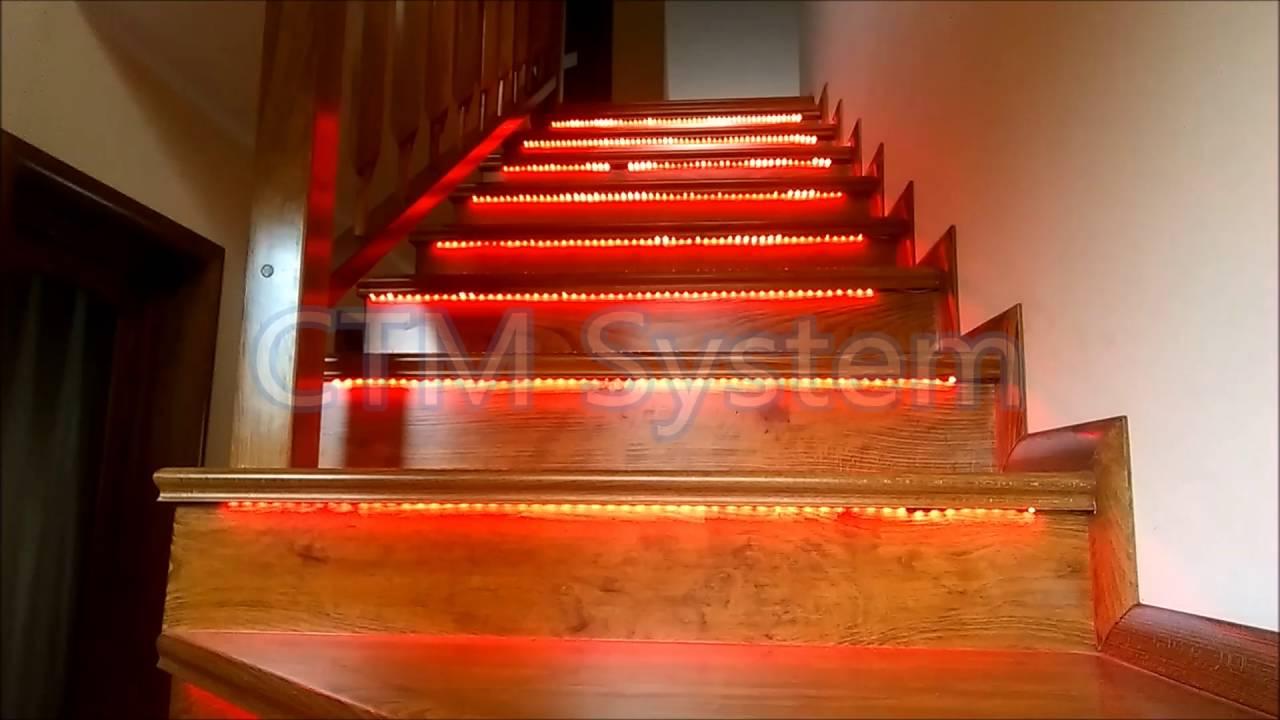 Modul pentru ****ire/oprire a sistemului de iluminat scări cu senzori