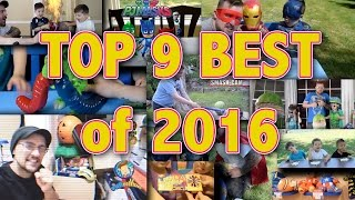 Top 9 most viewed 🙌  | COMPILATION VIDEO of 2016 |  TRENDING 😃