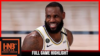 Lakers vs Rockets Game 5 | 9.12.20 | Full Game Highlights | 2nd Round