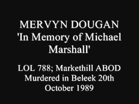 In memory of Michael Marshall