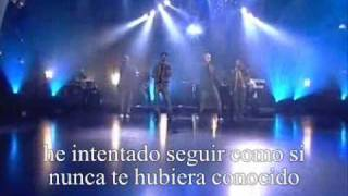 incomplete backstreet boys live traducida