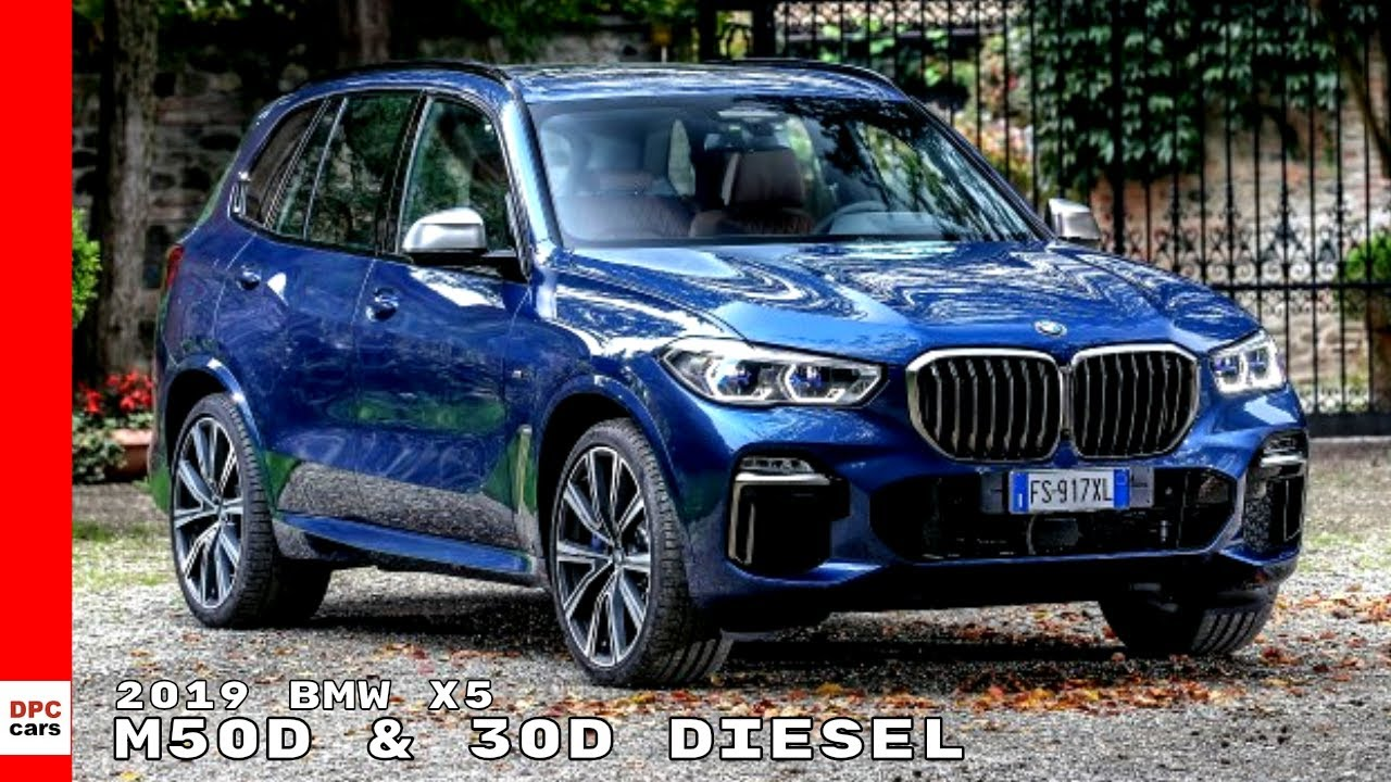 2019 Bmw X5 M50d 30d Diesel Youtube