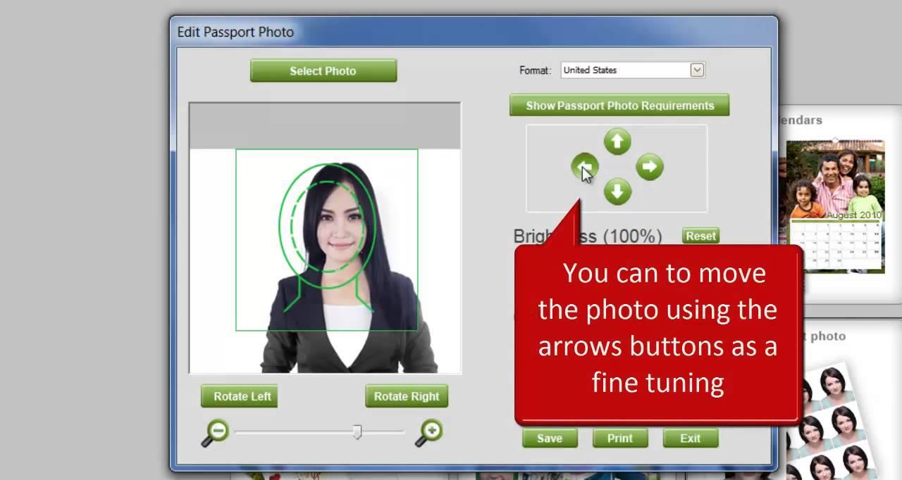 Passport photos for free , free passport photos software