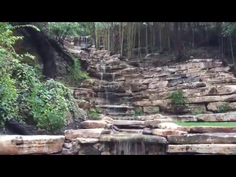 Custom Water Feature Design - Cascading Waterfall