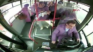 Водитель автобуса спас младенца