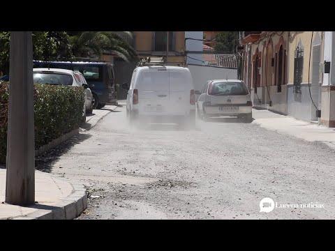 VÍDEO: Vecinos de la plaza Trasmatadero se quejan de las situación de la calle, en obras desde hace 6 meses