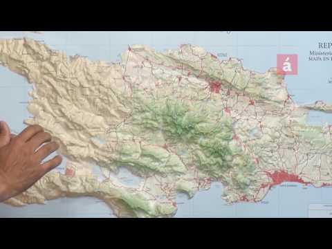 """""""La Hispaniola es una isla geológicamente compleja formada por varias islas"""""""
