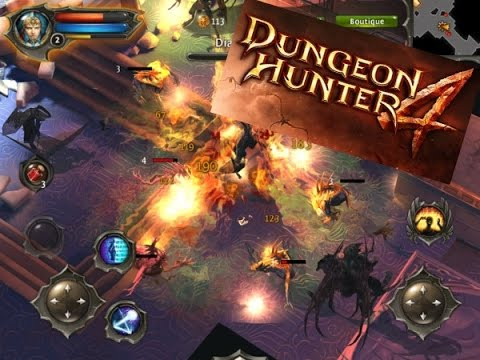 Dungeon Hunter 4 - Обзор игры: чем заинтересовала? IOS / Android летсплей ✔ Gameplay
