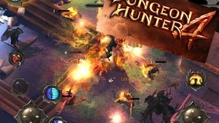 dungeon Hunter 4 - Обзор игры: чем заинтересовала? IOS / Android летсплей  gameplay