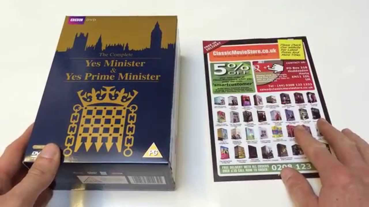 Download Yes Minister & Yes Prime Minister DVD set.