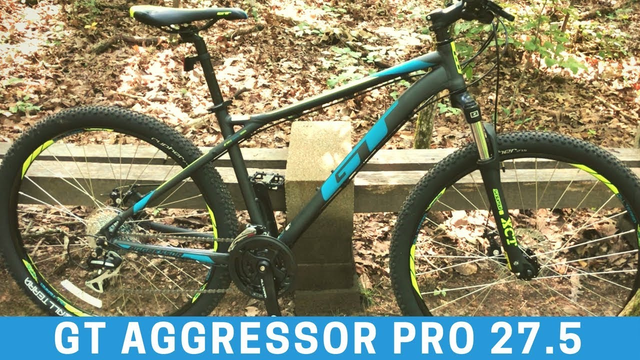 299 Gt Aggressor Pro 27 5 Mountain Bike From Dick S Sporting Goods