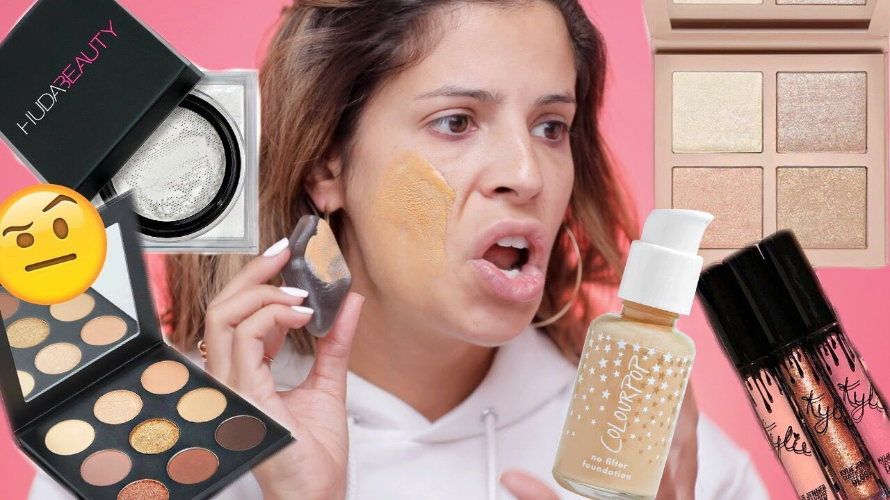 TESTING VIRAL OVER HYPED MAKEUP