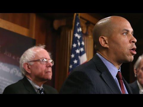 Cory Booker FLIPS VOTE, Joining Bernie Sanders