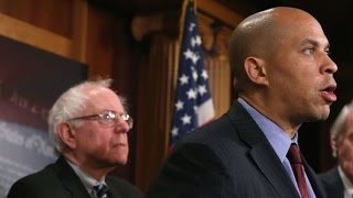 Cory Booker FLIPS VOTE, Joining Bernie Sanders