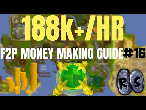 F2P Money Making Guide! Selling Gold Bars! EP16! (OSRS)