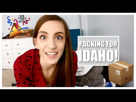 VLOGMAS DAY 20| PACKING FOR IDAHO!