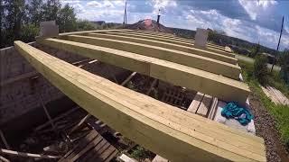 видео Перекрытия в доме. Виды перекрытий в частном доме
