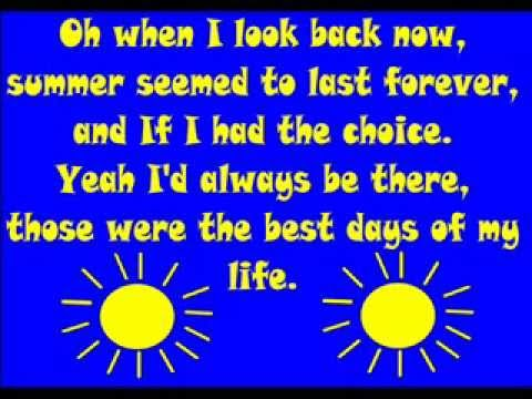 Summer Of 69 Lyrics Bryan Adams Complete Video With Vocals And